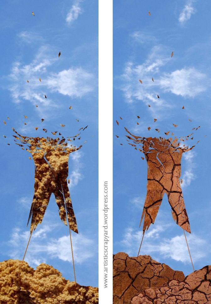 Digital Art: 'Hands Held High' or 'Stuck in Yourself'